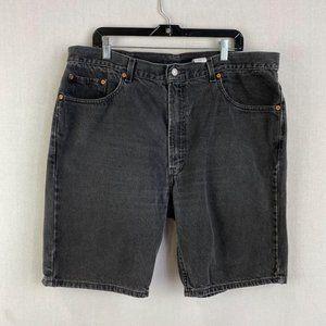 LEVI'S Black Denim Short